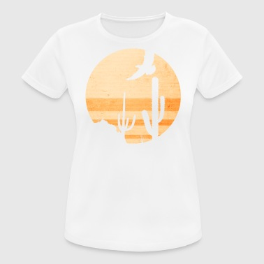 Desert Illustration - Frauen T-Shirt atmungsaktiv