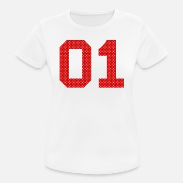 Number Numbers Numbers Numbers Number 01 Number Number - Women's Breathable T-Shirt