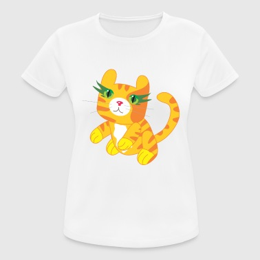 Cuddly Cuddly tiger - Women's Breathable T-Shirt