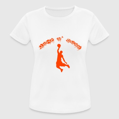 Street Basketball Jump and dunk basketball street basketball sport - Women's Breathable T-Shirt
