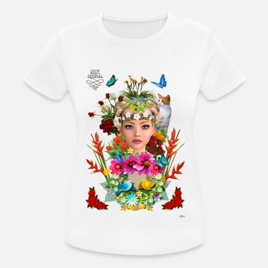 Lady spring -by- t-shirt chic et choc - T-shirt sport Femme