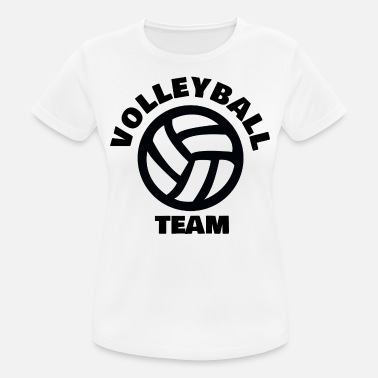 Volleybalteam VOLLEYBALTEAM - Vrouwen sport T-shirt