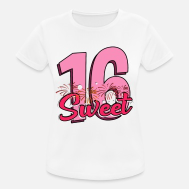 Sweet Sweet 16 - 16th birthday - sweet 16 years - Women's Sport T-Shirt