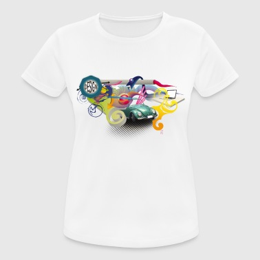 Design-cubographic _giuseppebucolo - Women's Breathable T-Shirt