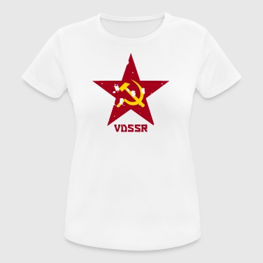 USSR Oldstar - Women's Breathable T-Shirt