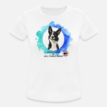 border collie - Women's Sport T-Shirt