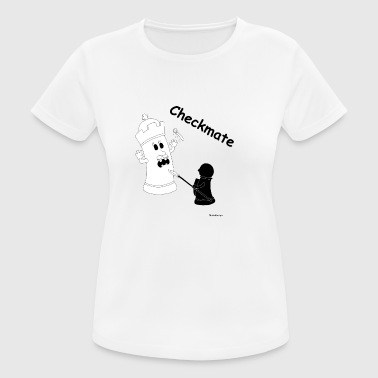 Checkmate Checkmate / checkmate - Women's Breathable T-Shirt