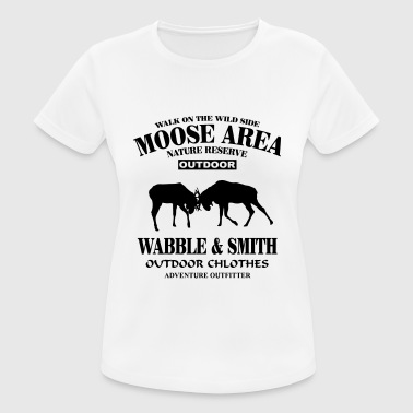 Fighting Moose  - Frauen T-Shirt atmungsaktiv