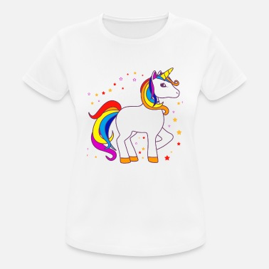 Funny Unicorn Cheval Unicorn Magical Funny Sayings - T-shirt sport Femme