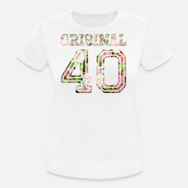 40 Years 1940 - 40 years - Frauen T-Shirt atmungsaktiv