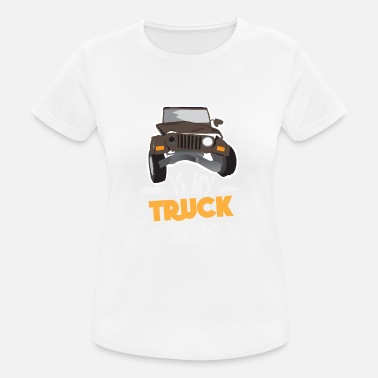 Offroad Funny Jeep Sayings Funny Offroad Gift - Maglietta sportiva donna