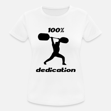 Dedicated dedication - Women's Breathable T-Shirt