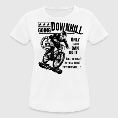 Extreme Challenge GHB bicycle downhill Mountain Bike 0309201 9 schwa - Women's Breathable T-Shirt