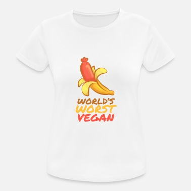 World's worst vegan BBQ shirt - Women's Sport T-Shirt