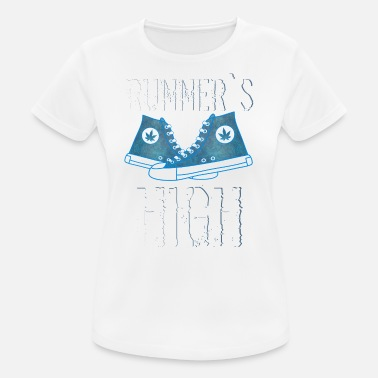Girl Runner runner - Women's Breathable T-Shirt