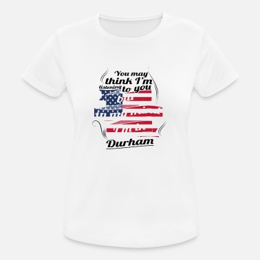 Durham THERAPY HOLIDAY AMERICA USA TRAVEL Durham - Women's Breathable T-Shirt