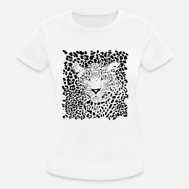 Animal Planet leopardo animale - Maglietta sportiva donna