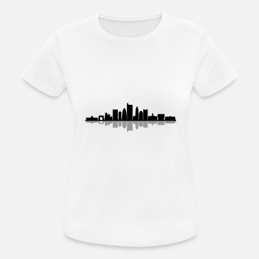 Ohio COLUMBUS Ohio USA Skyline City - Maglietta sportiva donna