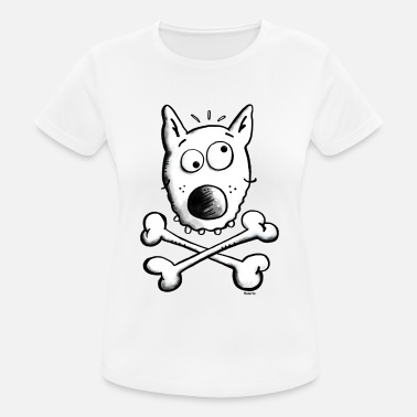 Dog Caricature Pirate Dog - Dogs - Women's Sport T-Shirt