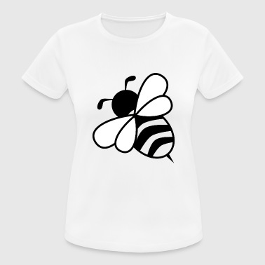 Bumble Bee bee - Women's Breathable T-Shirt