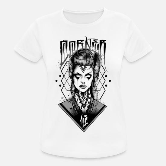 Mythical Collection T-Shirts - RITUAL GIRL - Women's Sport T-Shirt white