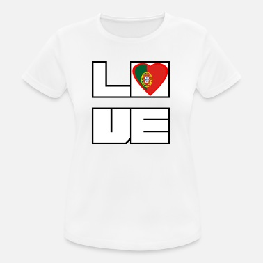 80f3588e8d Portugués Países portugués Loveland Roots PORTUGAL - Camiseta mujer  transpirable