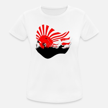 Kamikaze Samurai art - Women's Breathable T-Shirt