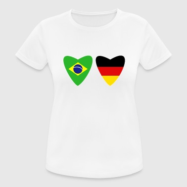 Cultura Brazil Germany T-Shirt German Brazilian - Women's Breathable T-Shirt