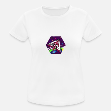 spaceship - Women's Sport T-Shirt