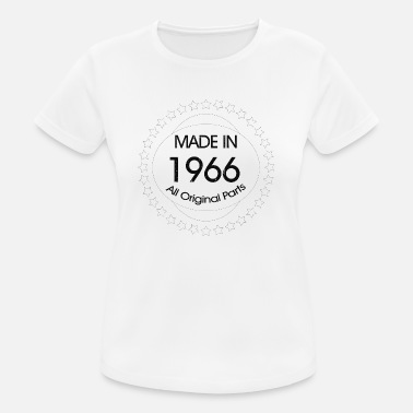 Made In 1966 All Original Parts Made in 1966 All Original Parts - Women's Breathable T-Shirt