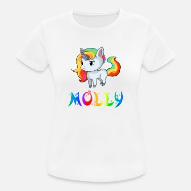 Molly Unicorn Molly - Dame T-shirt svedtransporterende