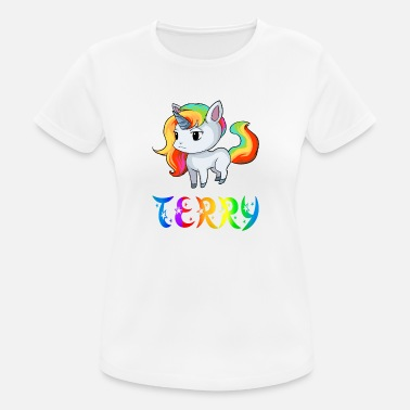 Terry Unicorn Terry - Women's Breathable T-Shirt