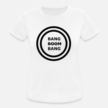 Checker Bang Boom Bang - Diseño de Logotipo Parte 1 - Camiseta mujer transpirable