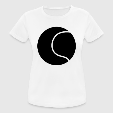 Tennis Logo Tennis ball logo - Women's Breathable T-Shirt