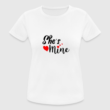 She's mine - Women's Breathable T-Shirt