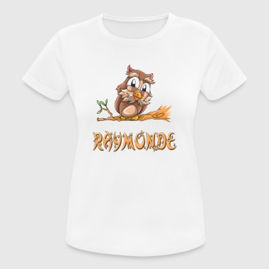 Raymond Owl Raymonde - Women's Breathable T-Shirt