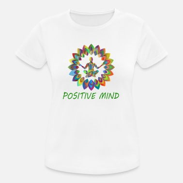 Mind Power POSITIVE MIND - Women's Breathable T-Shirt