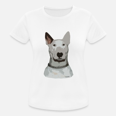 Bull Terrier Ted - vrouwen T-shirt ademend