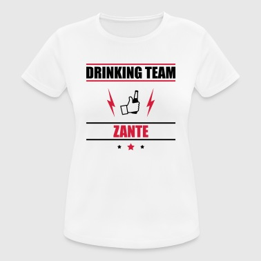Drinking Team Zante - Women's Breathable T-Shirt