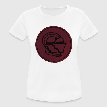 Stamp Subtle knight helmet wax emblem - Women's Breathable T-Shirt