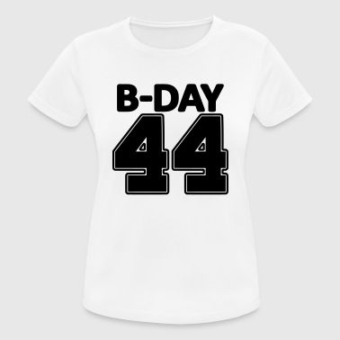 Special Number 44 years number number 44th birthday numbers jersey - Women's Breathable T-Shirt