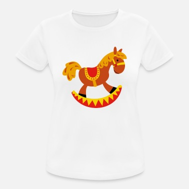 Rocking Horse rocking horse - Women's Breathable T-Shirt