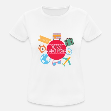 Therapy Therapy - The best kind of therapy - Women's Sport T-Shirt