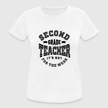 Second Grade Teacher - Women's Breathable T-Shirt