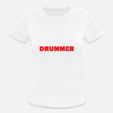 Drummer Apparel Drummer - Smart, good looking and Drummer. It does - Women's Sport T-Shirt