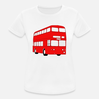 Double Decker Bus Double Decker Red Bus - Women's Breathable T-Shirt