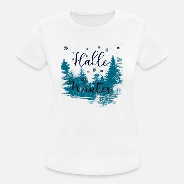 Winter winter - Women's Breathable T-Shirt