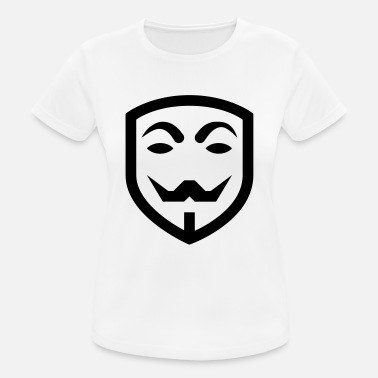 Iconic Journalist Anonymous mask icon - Women's Breathable T-Shirt