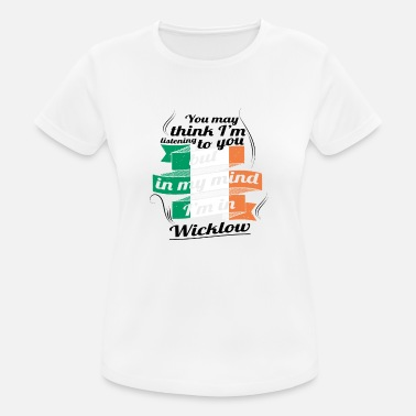 Wicklow URLAUB irland ROOTS TRAVEL I M IN Ireland Wicklow - Frauen Sport T-Shirt