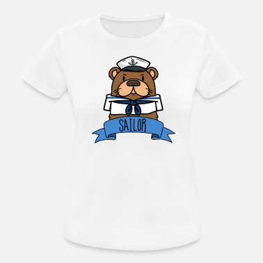 Sailor Sailor gift Nautical sailing ship Ahoy Sailor - Women's Sport T-Shirt